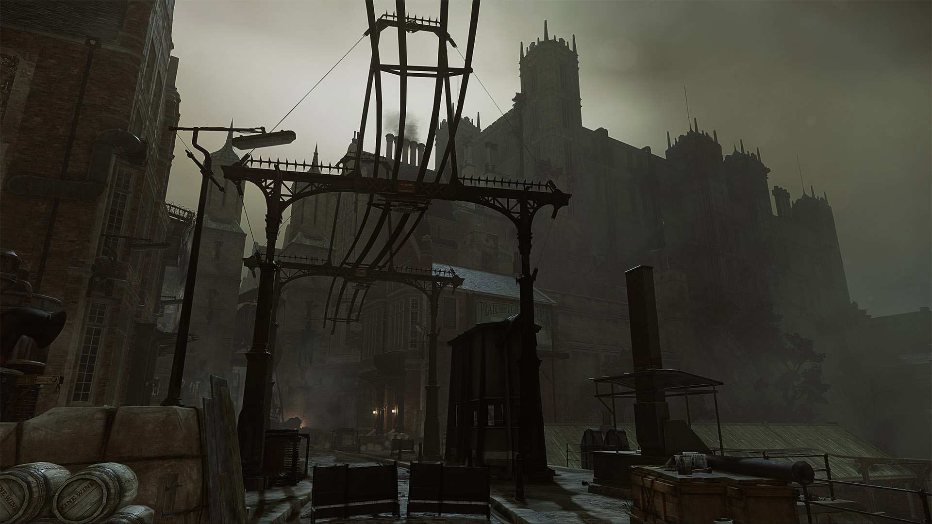 Maxime Maroukian Map Dtte On Dishonored 2
